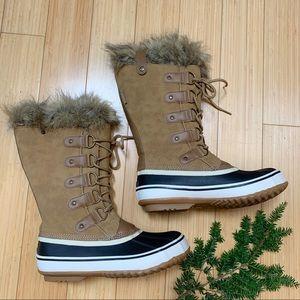 NEW!  JBU Edith winter snow boots, 8.5.